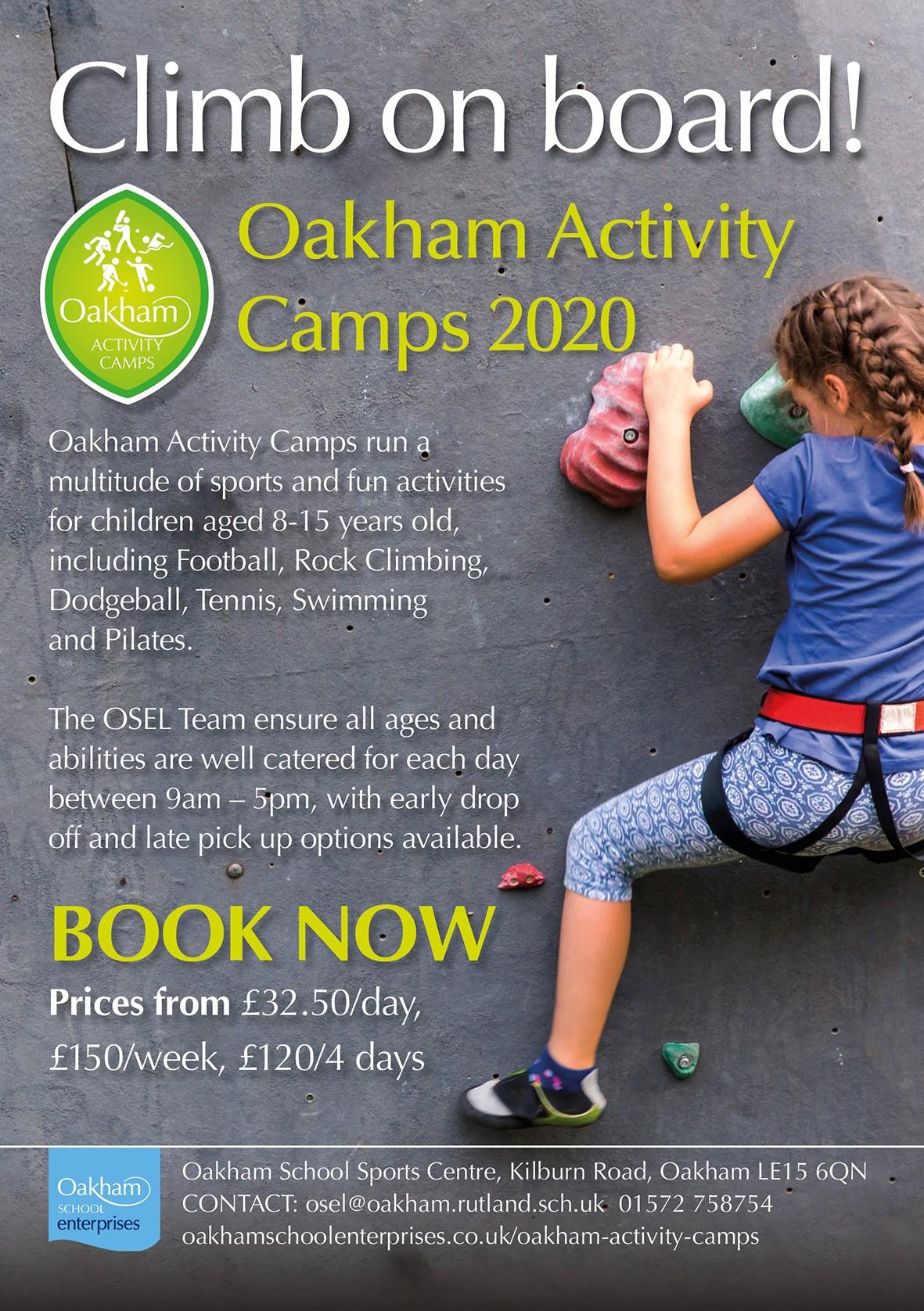Oakham Activity Camps 1